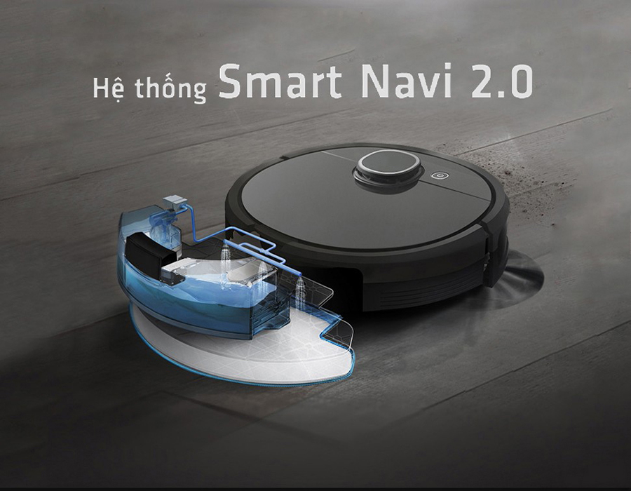 Robot lau nhà hút bụi thông minh smarth move Hero DX96 (NEW 100%), model mới nhất điều khiển qua app điện thoại - máy hút bụi lau nhà thông minh siêu cấp smarth move D0624