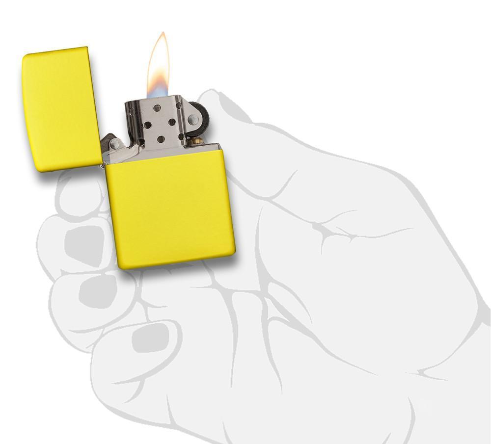 Bật Lửa Zippo Lemon Matte 24839