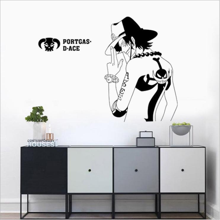 Decal dán tường Đảo hải tặc - decal anime One Piece