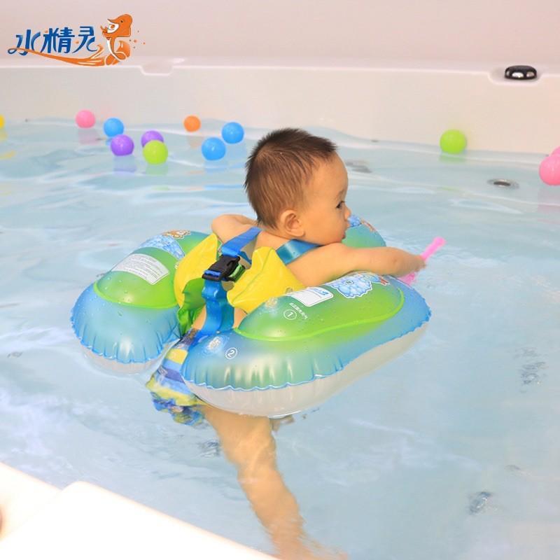 Phao bơi chống lật bơm hơi cho bé 3 tháng 1 2 3 tuổi