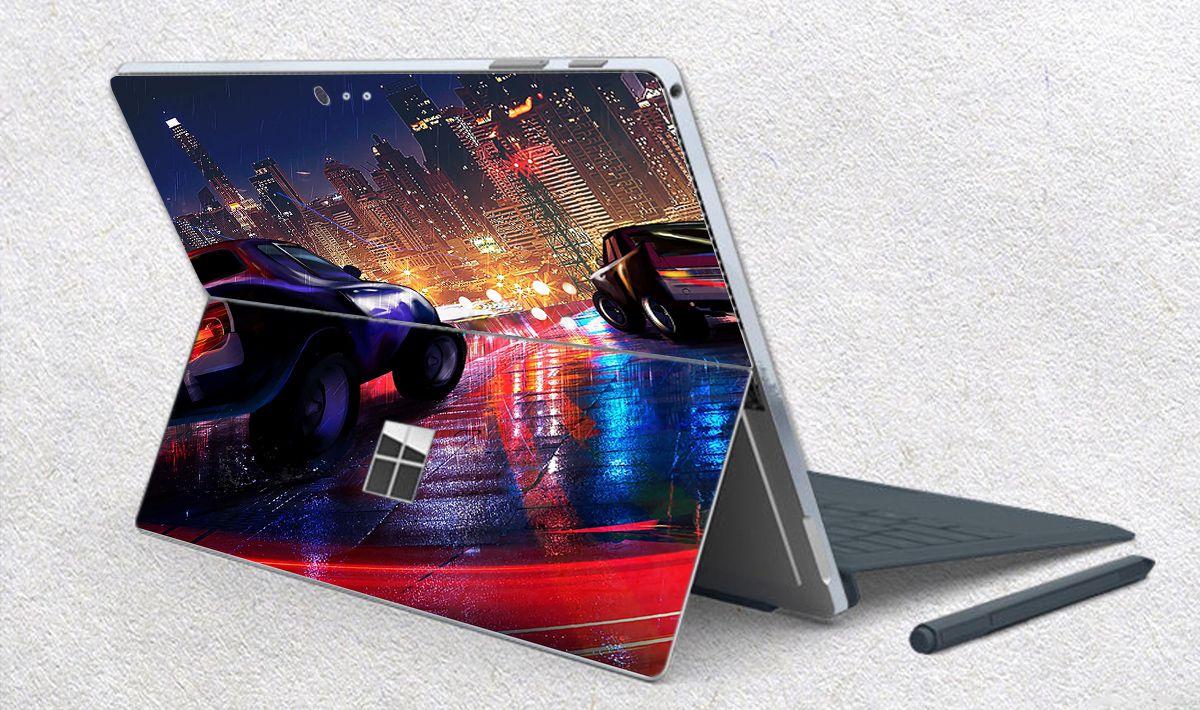 Skin dán hình xe hơi cho Surface Go, Pro 2, Pro 3, Pro 4, Pro 5, Pro 6, Pro 7, Pro X