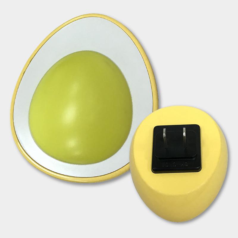 Đèn Ngủ Cảm Biến LED Điện Quang ĐQ LNL07 WW (Cảm Biến Quang, Hình Quả Trứng, Ánh Sáng Vàng)