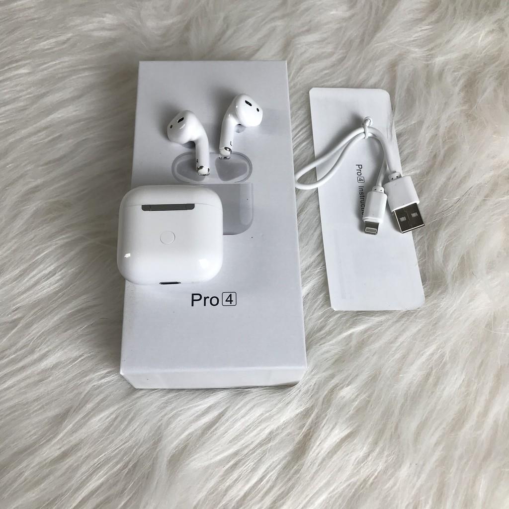 Tai Nghe Inpods Pro 4 Cảm Ứng Bluetooth Âm Thanh Sống Động
