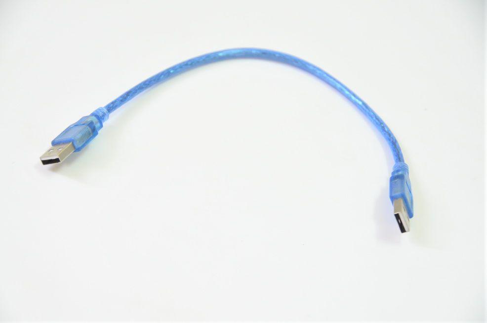 DÂY NGUỒN 2 ĐẦU USB LOẠI NGẮN 25CM