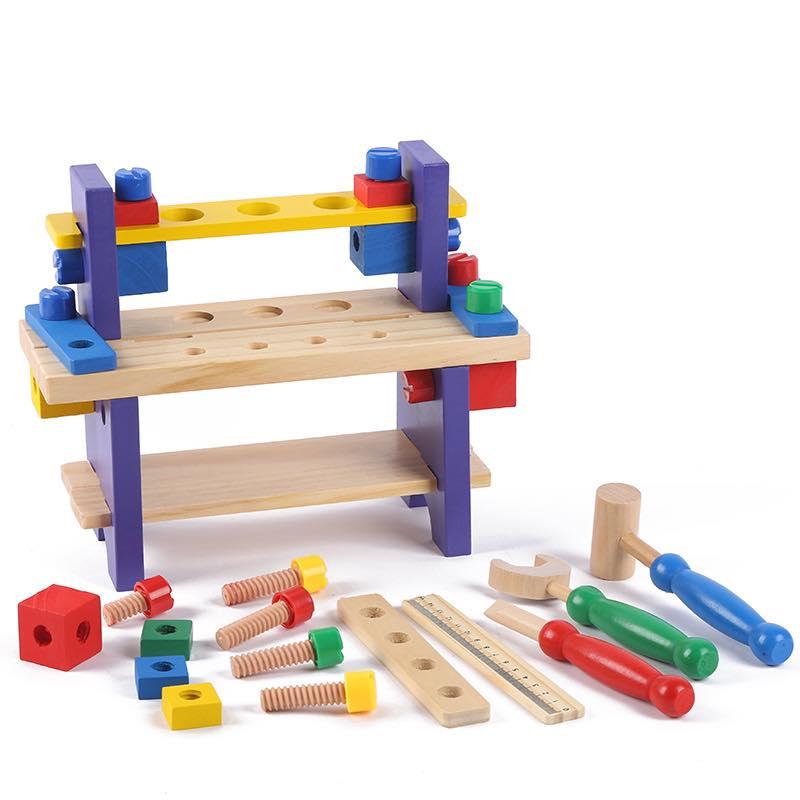 BỘ DỤNG CỤ KỸ THUẬT Mk- đồ chơi gỗ