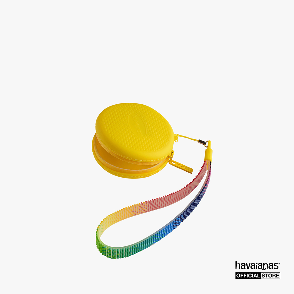 HAVAIANAS - Bao đựng tai nghe hình tròn Color Dots 4145432-0023 - Hàng chính hãng