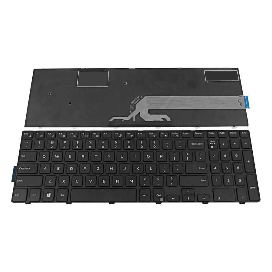 Bàn Phím Dành Cho Laptop Dell Inspiron 3541 3542 3549 5542 5543 - Hàng Nhập Khẩu
