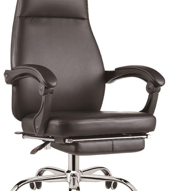 Ghế văn phòng thư giãn ngả lưng có gác chân thoải mái MN-G516-U1 (Đen)