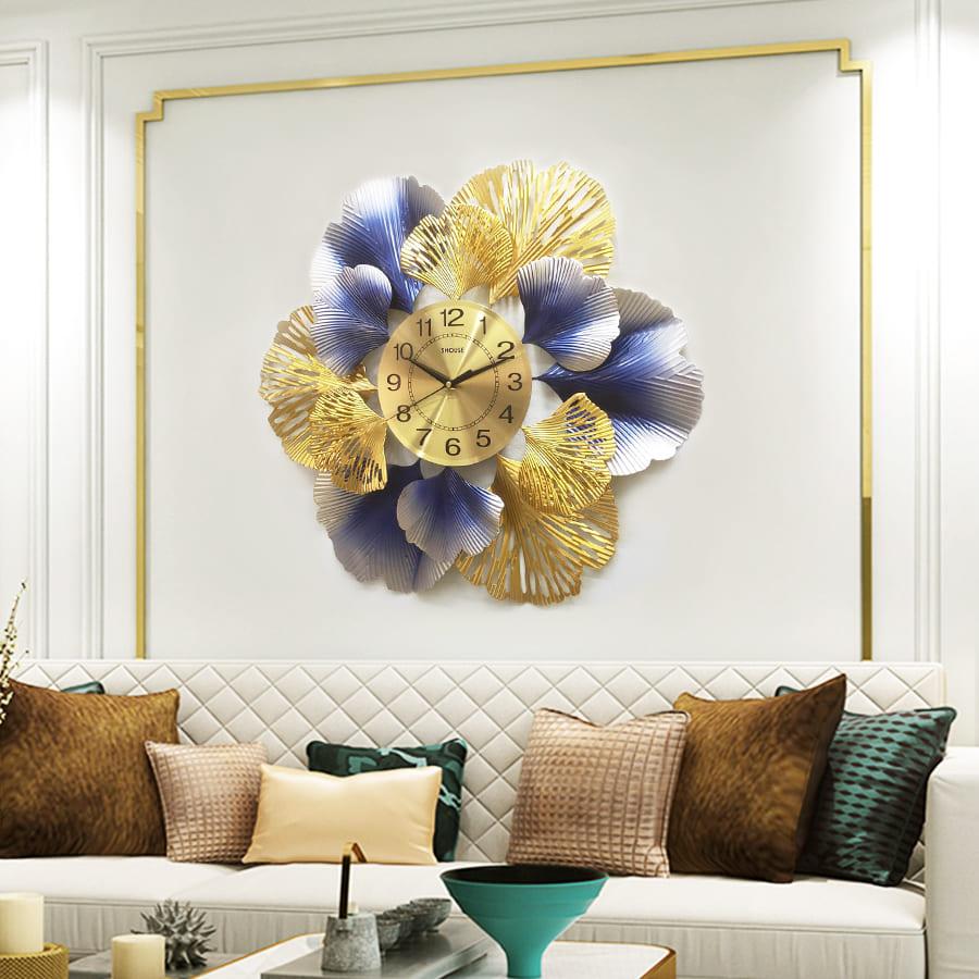 Đồng Hồ Treo Tường Trang Trí Đẹp S-DC220 độc lạ 3d cỡ lớn nghệ thuật phù hợp cho phòng khách, phòng ngủ