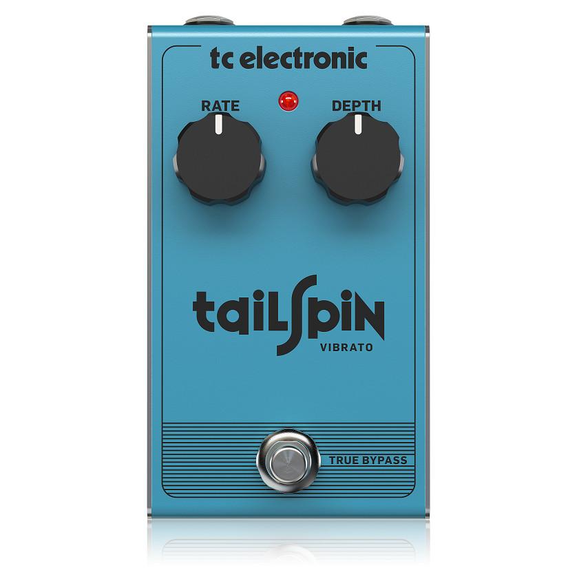 TC Electronic TAILSPIN VIBRATO -Classic True Pitch Vibrato-Hàng Chính Hãng
