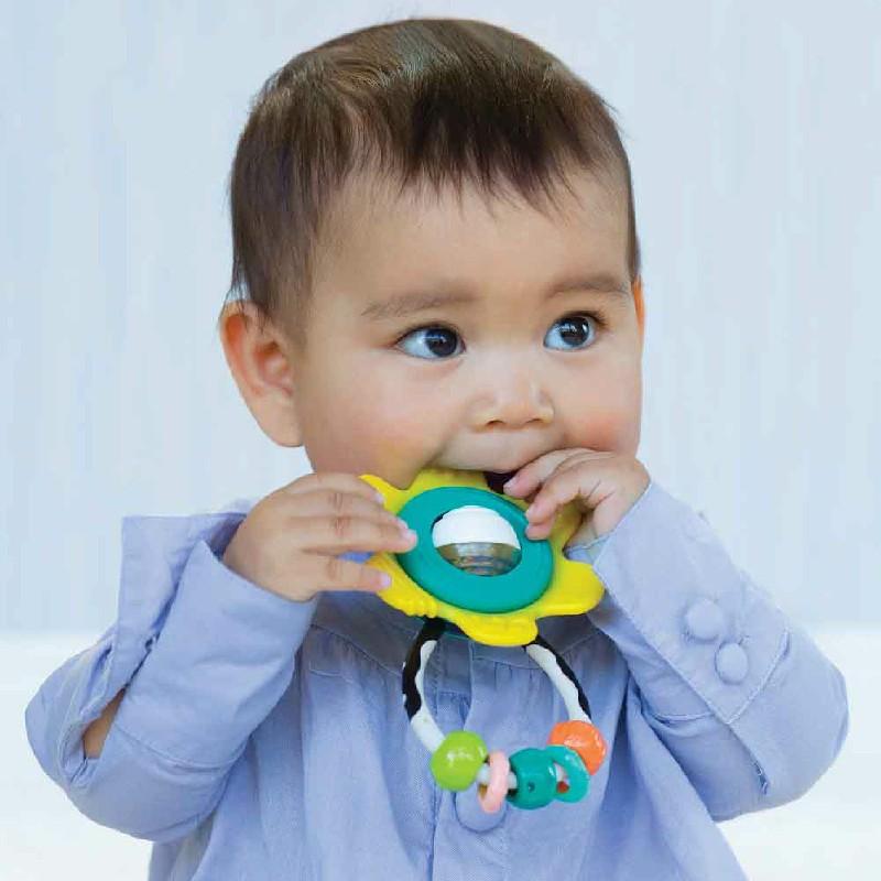 Bông hoa xúc xắc gặm nướu - BPA Free Infantino 216314