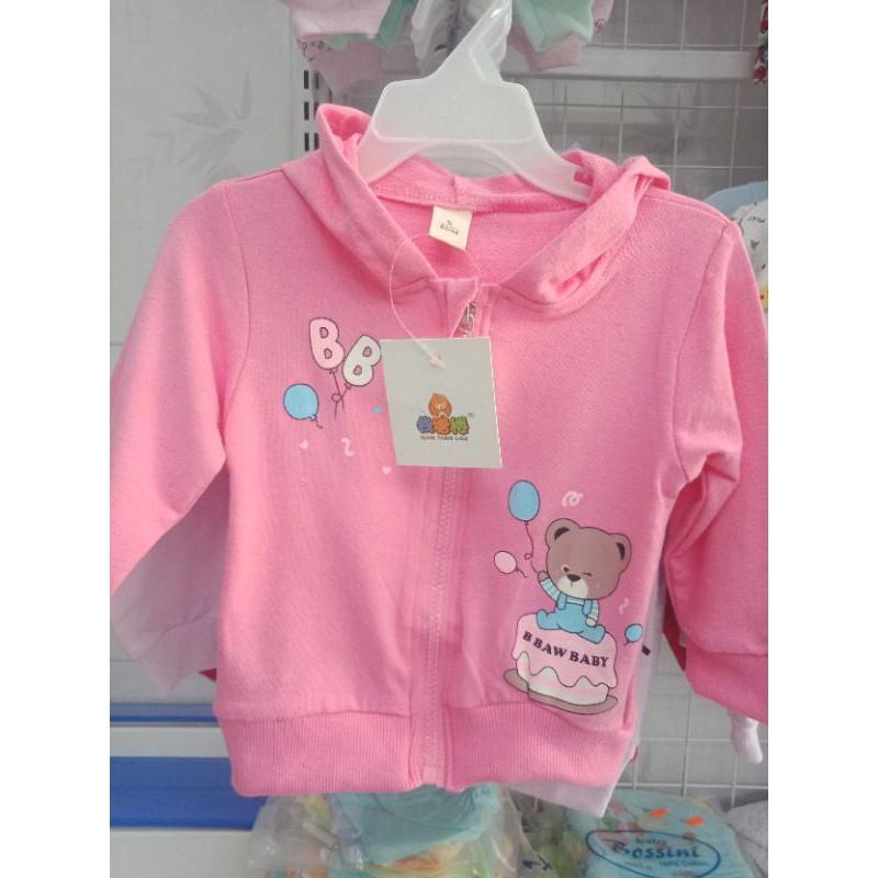 Áo khoác bé gái chất liệu 100% cotton mềm mịn