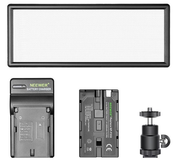 Đèn led quay phim chụp ảnh Neewer T120 hàng chính hãng.