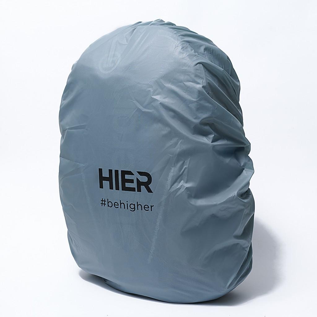 Áo mưa balo túi trùm balo Hier dành cho balo thể tích dưới 30L - chống nước chống bụi- có quai đeo tiện lợi - nhỏ gọn