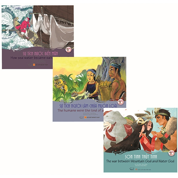 Bộ Sách Song Ngữ Cổ Tích Việt Nam 1 (Bộ 3 Cuốn)