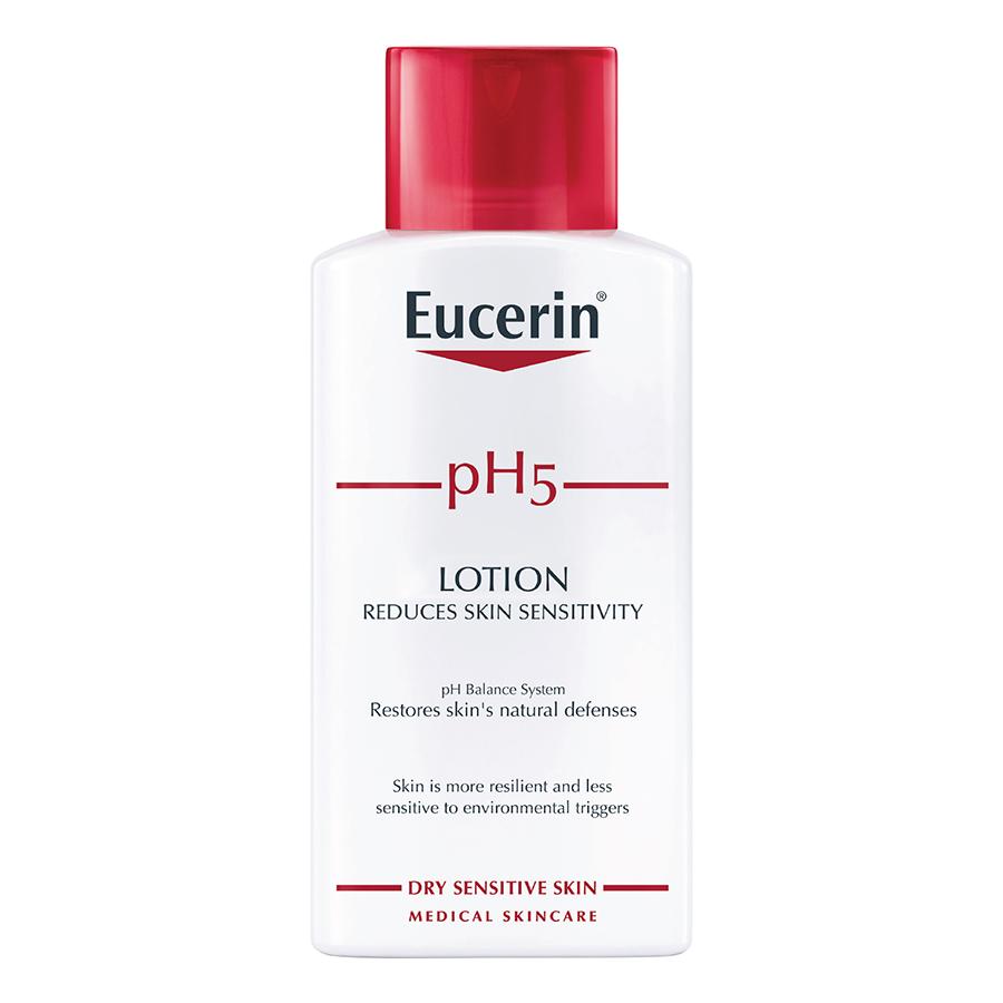 Sữa Dưỡng Thể Cho Da Cơ Thể Nhạy Cảm Eucerin Sensitive Skin Ph5 Lotion (250ml)
