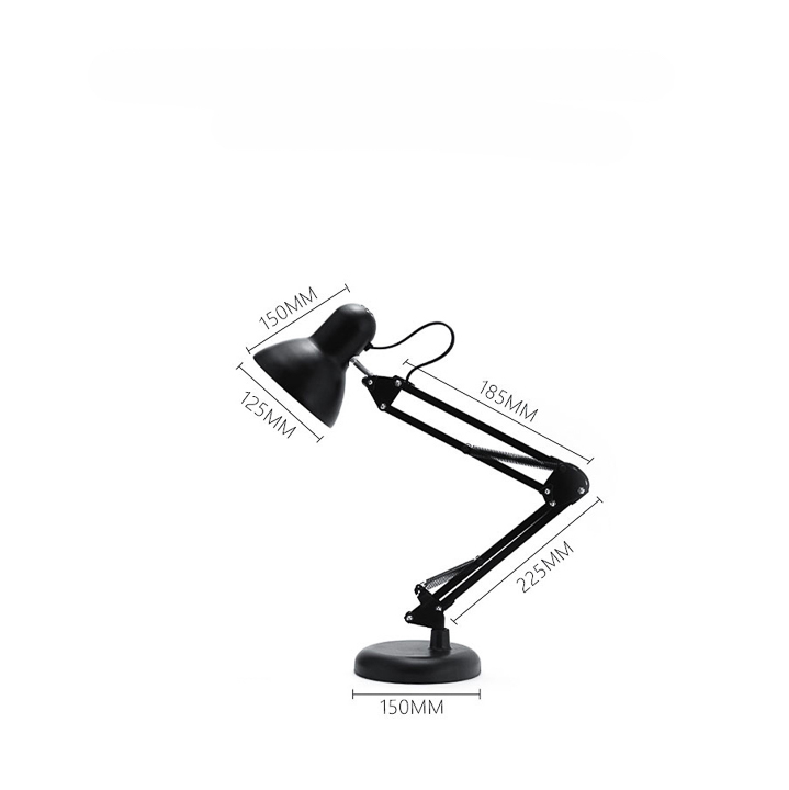 Chân Đèn Bàn Học Tập Làm Việc Có Chân Kẹp Bàn Kiểu Dáng Pixar Bằng Thép Khối Lượng 1.6Kg Mã T811