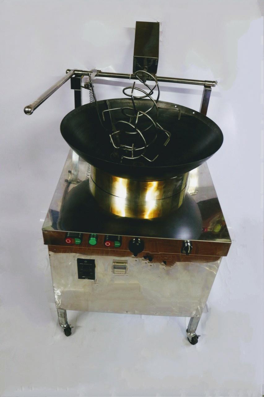 Máy rang cơm , chiên xào tự động đa năng đơn giản dễ sử dụng,trang bị Aptomat chống dò điện
