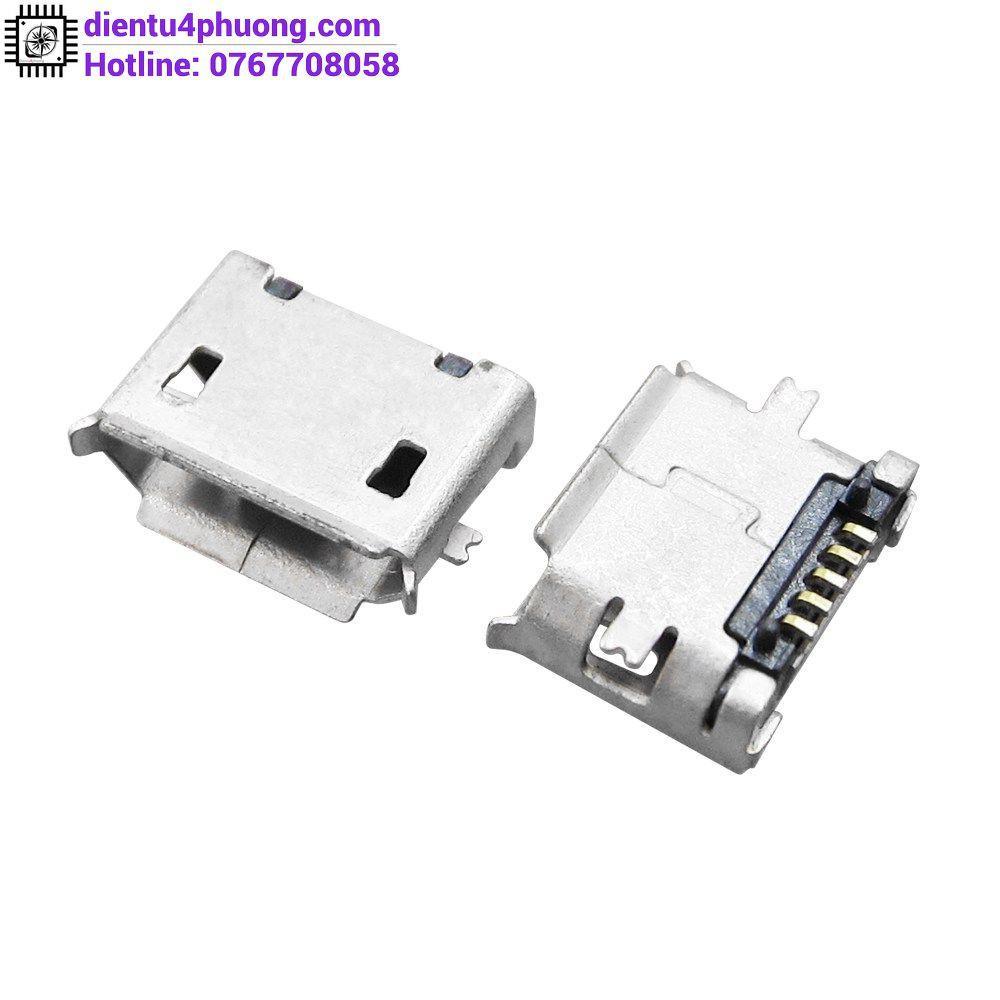 Micro, Mini USB MK5P SMD (Đầu Cái)
