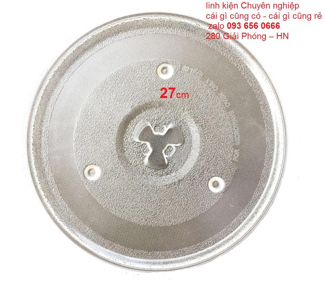 Đĩa Lò Vi Sóng Cao Cấp đường kính 31.5cm