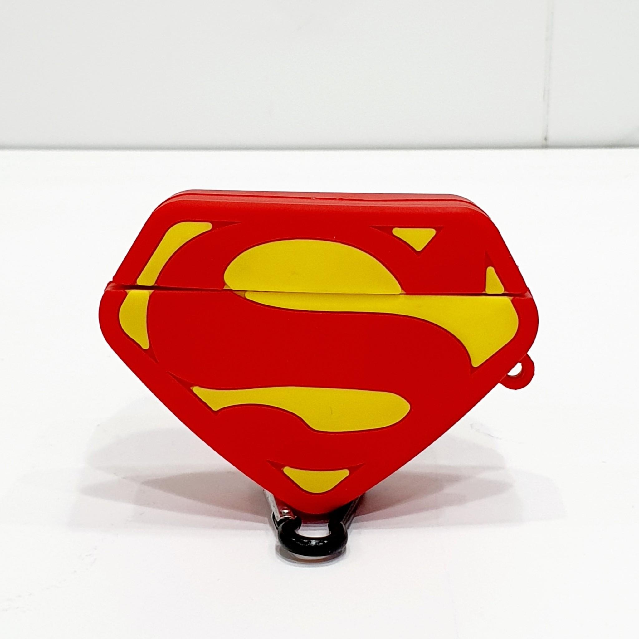 Case Dành Cho Airpods Pro - Ốp Bảo Vệ Dành Cho Airpods Pro Cao Cấp - Superman