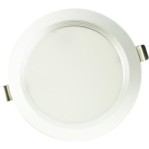 Đèn LED âm trần siêu mỏng Kosoom 12W viền trắng DL-KS-SMT-12