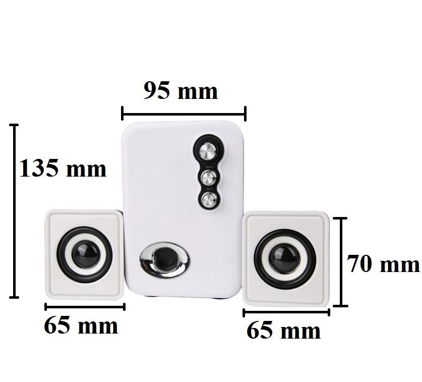 Loa vi tính PKCB 3N nhập khẩu máy tính điện thoại speakers PF3