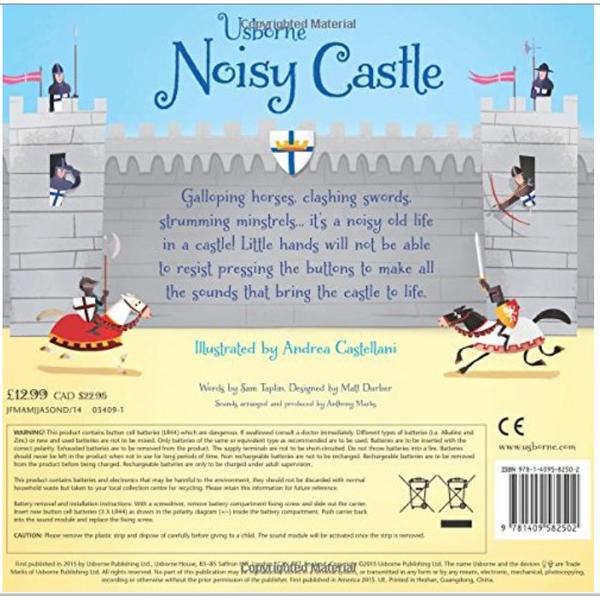 Sách tiếng Anh - Usborne Noisy Castle