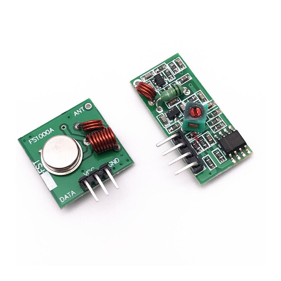 Module Thu Phát RF 433 (gồm 1 bộ thu và 1 bộ phát RF)