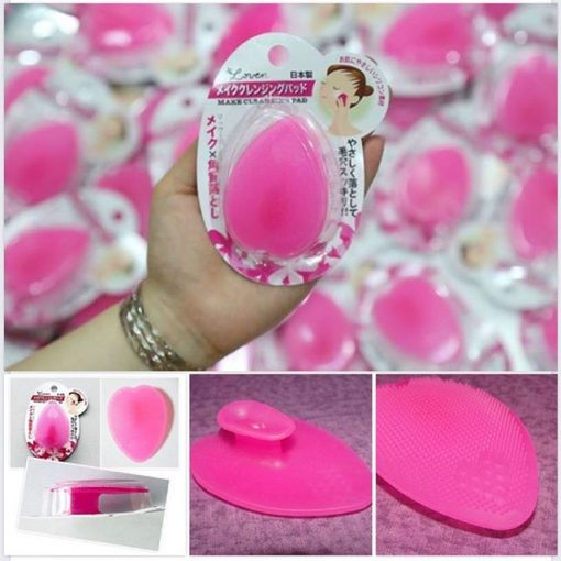 Miếng Silicon Rửa Mặt Nhật Cleansing Pad