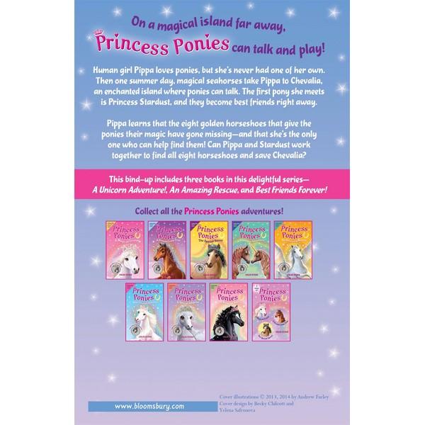 Princess Ponies Bind-up Books 4-6