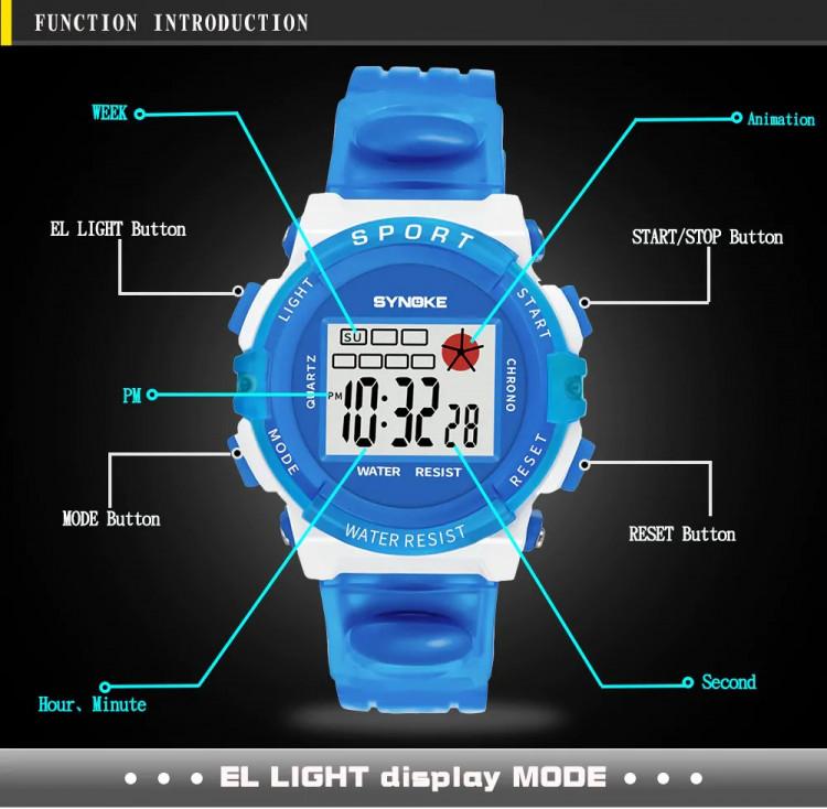 Đồng hồ trẻ em SYNOKE 99268 6