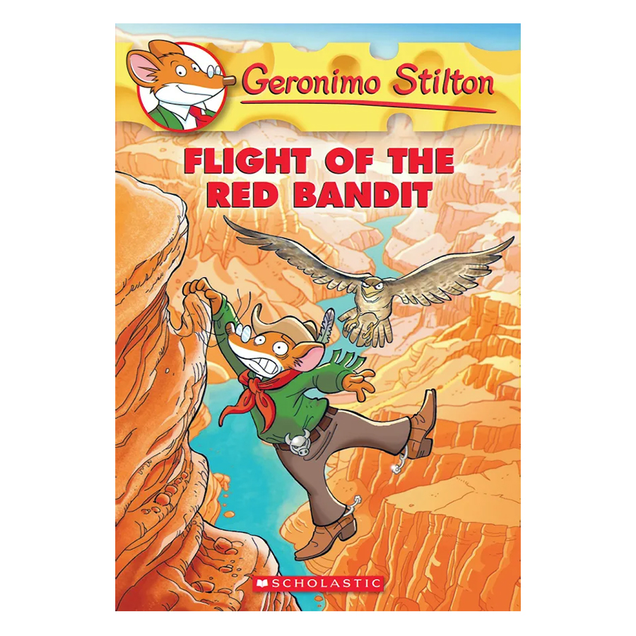 Geronimo Stilton 56: Flight Of The Red Bandit