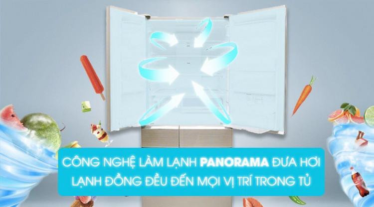 Cảm biến Econavi - Tủ lạnh Panasonic Inverter 589 lít NR-F603GT-N2