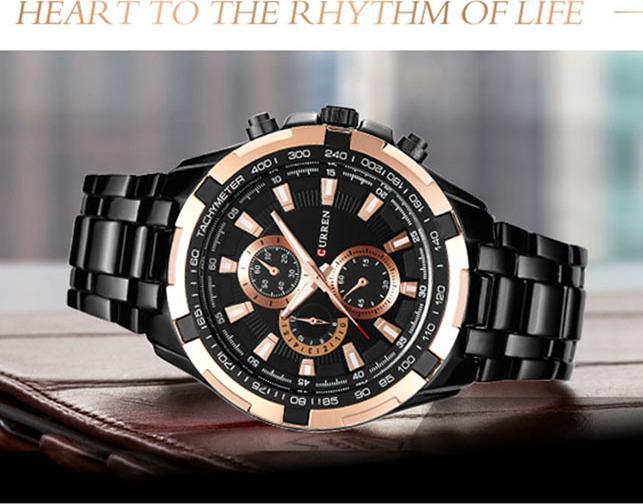 Đồng hồ Nam thời trang CURREN 8023 - DHA189