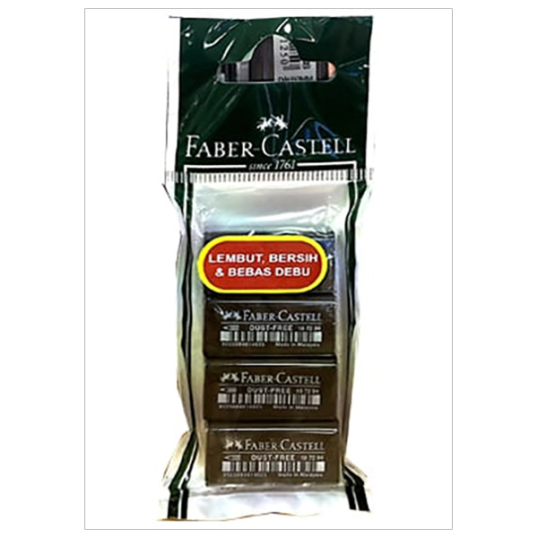 Gôm Dust Free Faber-Castell 1871994 - 187199/187294 Size 48 (4 Viên)
