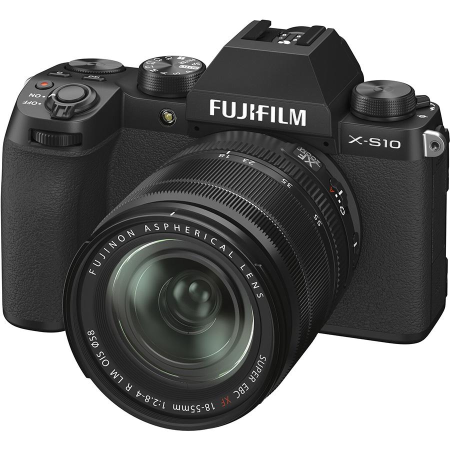 Máy Ảnh Fujifilm X-S10 + Lens 18-55mm - Hàng Chính Hãng