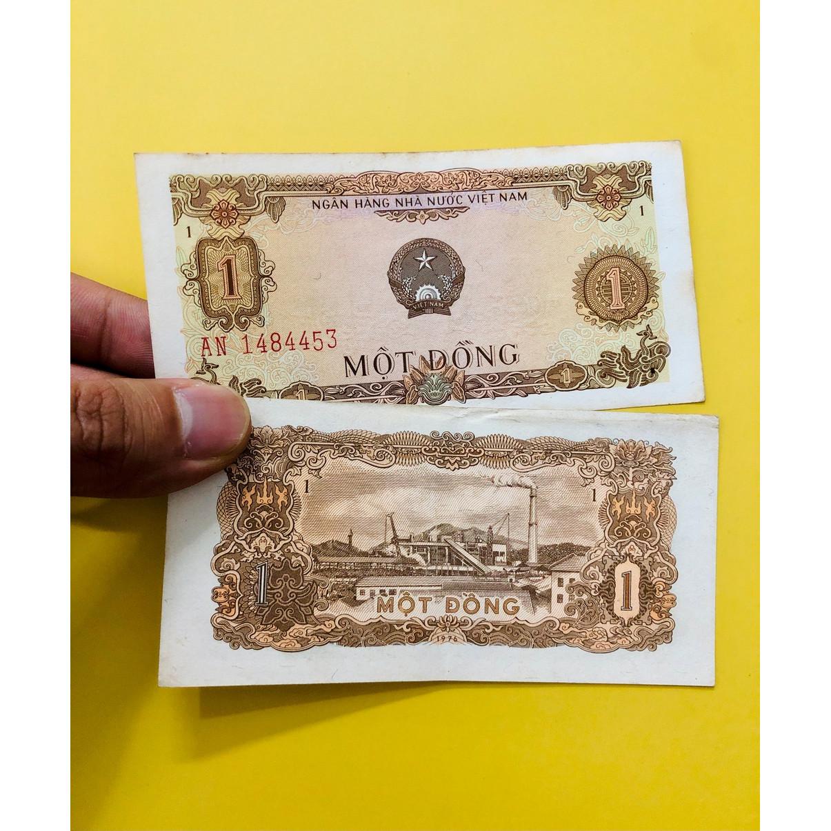 Tờ 1 đồng Việt Nam 1976 thời bao cấp sau giải phóng