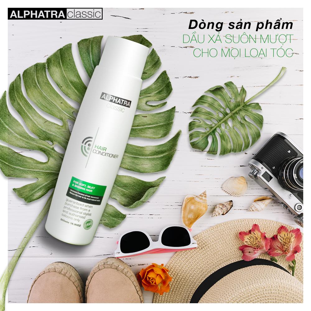 Dầu xả phục hồi tóc hư tổn - HAIR CONDITIONER - Alphatra Classic