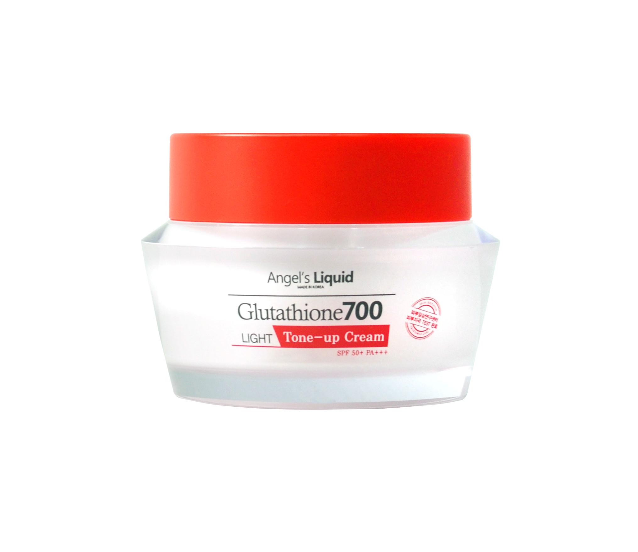 Kem Dưỡng Angel's Liquid Làm Sáng Da Glutathione 700 Light Tone-Up Cream SPF50+/PA+++ 50g
