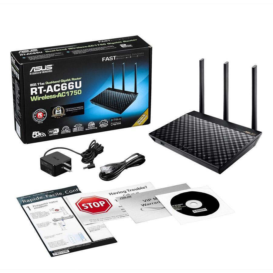 Router Wifi Mesh Asus RT-AC67U (2 Pack) Băng Tần Kép AC1900 - Hàng Chính Hãng