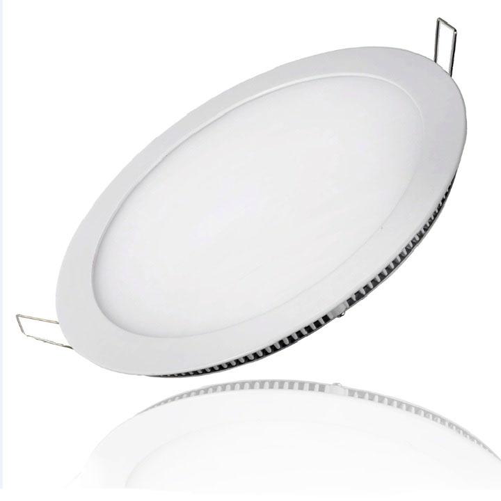 Đèn led âm trần siêu mỏng ANXIE 9W Tròn trắng / vàng