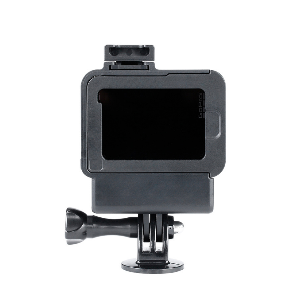 Phụ Kiện Quay Phim | Thiết bị hỗ trợ quay phim GoPro Mount, Tích hợp cho các dòng Gopro 5,6,7, Thiết Kế Chân Đế Ẩn, Làm Từ Nhựa ABS Nên Độ Bền Rất Cao, Tương Thích Hầu Hết Các Dòng Tripod, Monopod, Gậy selfie - Hàng Chính Hãng