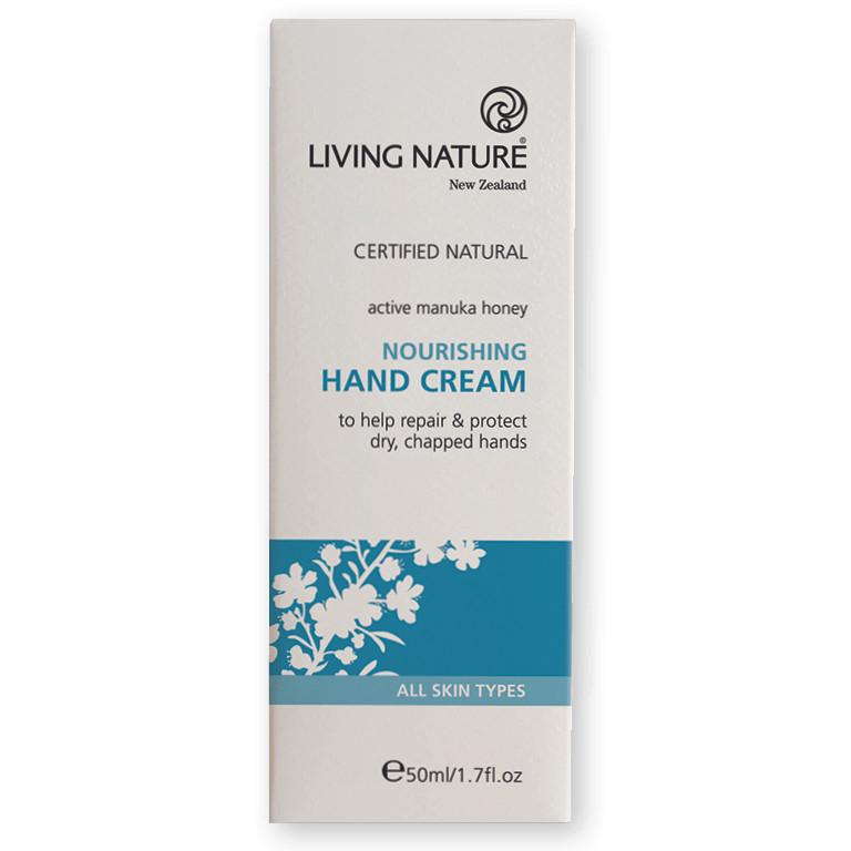 Kem Dưỡng Da Tay Living Nature Nourishing Hand Cream 50ml