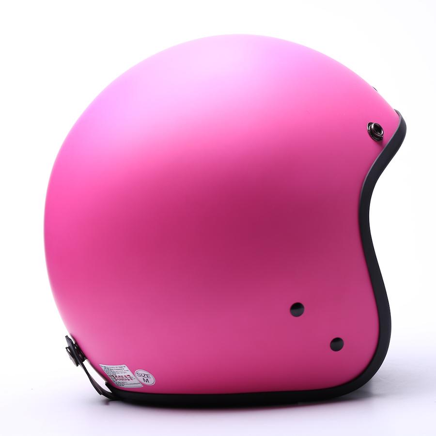 Mũ bảo hiểm CHITA 3/4 CT1 - Hồng đậm sơn mờ