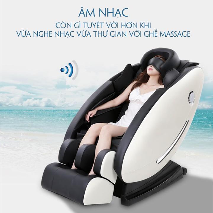 Máy Massage toàn thân cao cấp công nghệ mới (Massage 8D, Bấm huyệt, Âm nhạc thư giãn)
