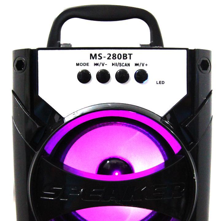 Loa gỗ Bluetooth xách tay MS-280BT