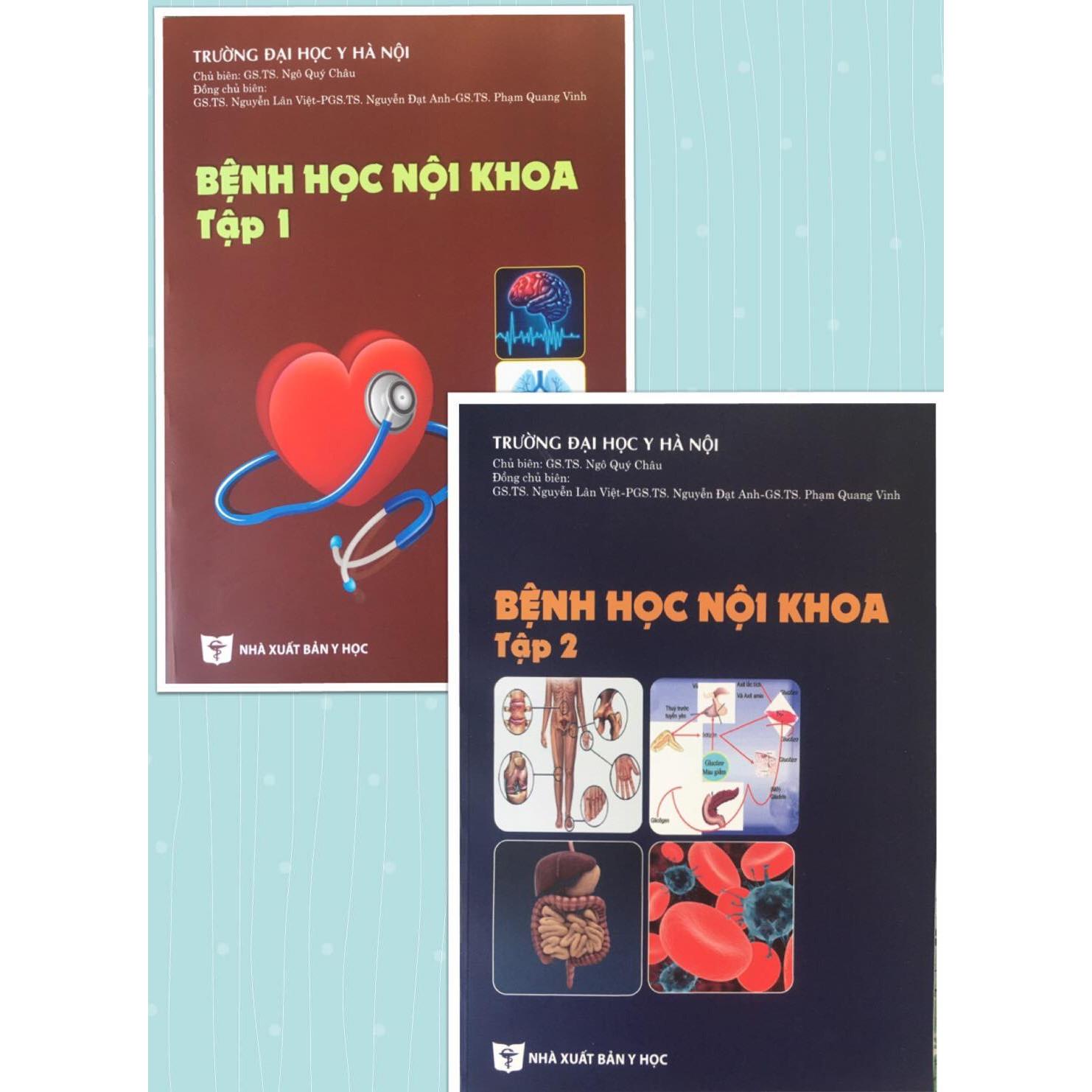 Bệnh học nội khoa 2020 (Tập 1+ Tập 2)