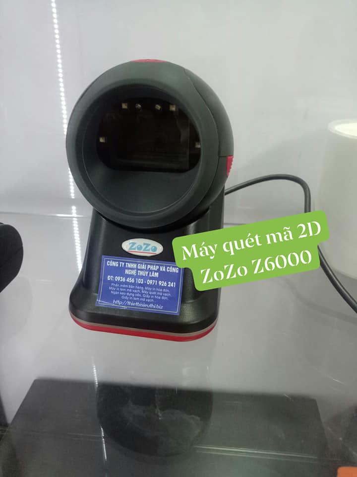 Máy quét mã vạch đa tia 2D ZoZo Z6000 - Hàng chính hãng