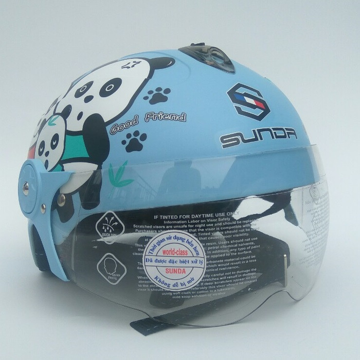 Mũ bảo hiểm trẻ em có kính SUNDA 108SB